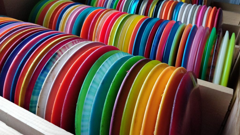 CE Discs has that largest inventory of used discs in the Yamhill Valley